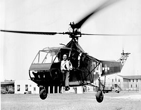 The First Helicopter Mission