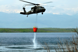 Black Hawk with Bambi Bucket