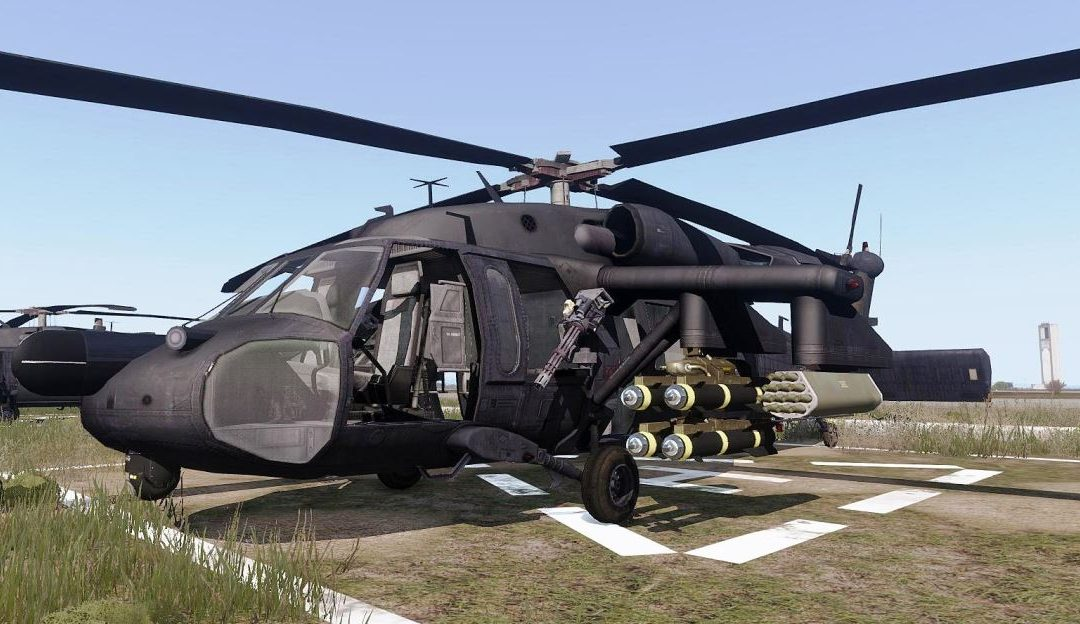 Combat Mission Equipment for Black Hawks