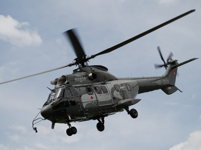 Skycore Aviation Examines Super Puma Helicopters