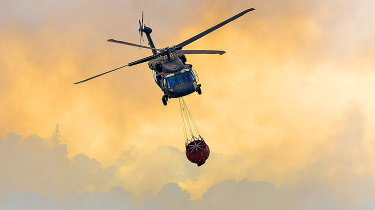 Firefighting Mission Equipment for Black Hawks